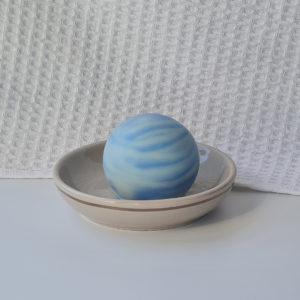 Savon Neptune série Planètes création artisanale France fait main huiles végétales Bio